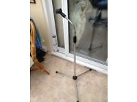 MICROPHONE STAND FLEXIBLE TOP FULLY EXTENDING