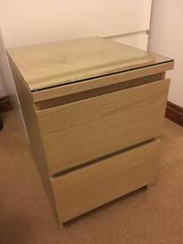 Malm Ikea Bedside Table