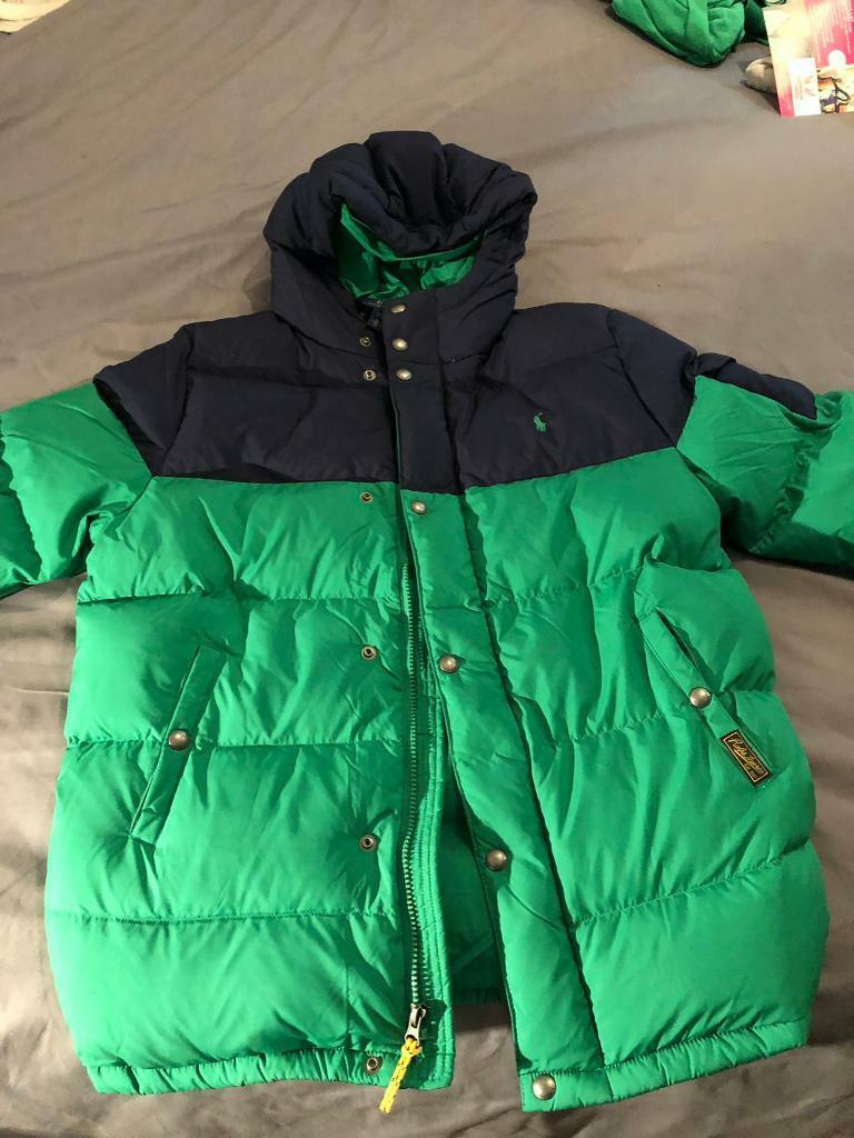 great look really comfortable 2019 best Boys Polo Ralph Lauren Green Puffer Jacket | in Bishopbriggs, Glasgow |  Gumtree