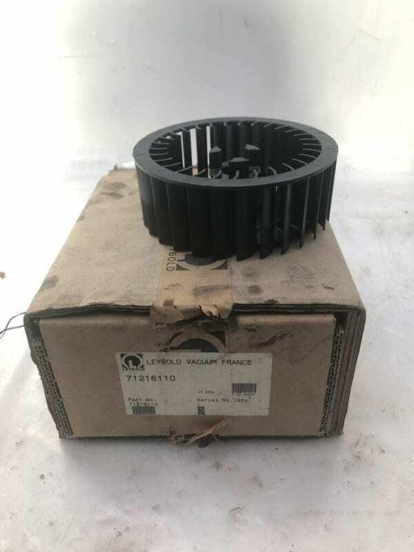 Leybold Vacuum 71216110 Replacement Pump Impeller -NIB