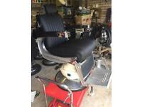 1 Belmont Apollo barbers Chair with head rest