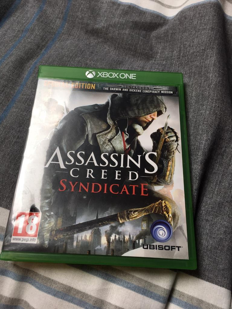 ASSASSINS CREED SYNDICATEXBOX ONEin Clarkston, GlasgowGumtree - ASSASSINS CREED SYNDICATE XBOX ONEBought for £40Collection or delivery (depending on address)