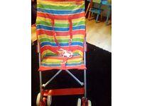 Hoilday pushchair