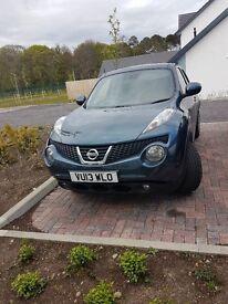 Nissan juke for sale low mileage, years warranty,
