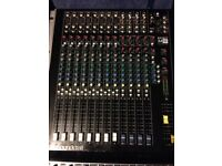 Soundcraft spirit m8 mixing desk