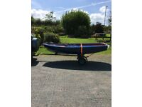 Small boat trailer