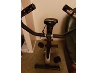 Black and Silver General Fitness Exercise Bike