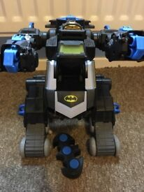 Imaginext Batman remote car
