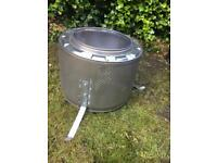LARGE WASHING MACHINE FIRE PIT - Collection only SK14. Open to offers