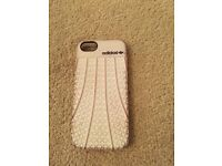 Adidas iphone 5/5s case white