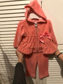 Two part baby tracksuit