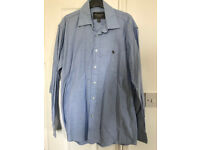 Abercrombie and Fitch men's light blue shirt XL muscle fit