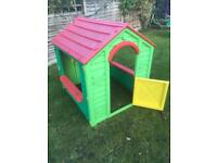 Plastic playhouse