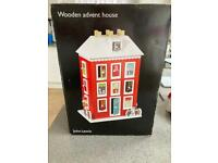 John Lewis wooden House Advent Calendar