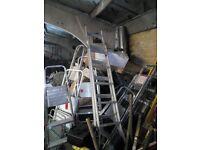 Step Ladders various heights 3,4,5,6 step