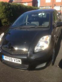 Toyota Yaris 1.3 TR 5 Door 2010 Tax only £30 a year
