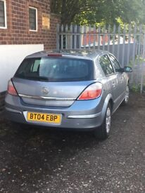 Vauxhall Astra. 04 plate. Spares & repairs. 89,217 miles