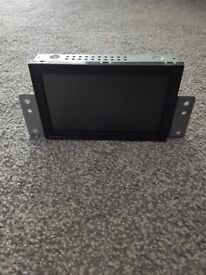 Mitsubishi l200 sat nav screen