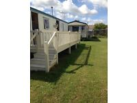 Two Bedroom Static Caravan Sited at SeaView Holiday Park, Swalecliffe 23 by 10ft 2004 with decking