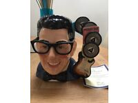 Buddy holly royal doulton limited edition Toby jug. Number 416 of 2500 made, as new condition