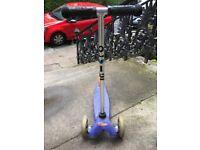 Micro Scooters Mini T Bar Blue