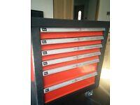 Swiss Kraft Professional Hand Tool Set with Trolley.First grade chrome vanadium steel alloy material