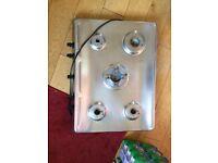 Hotpoint 5 burner gas hob