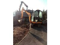 SUPERIOR MINI DIGGERS MINI DIGGER AND DRIVER HIRE FROM £225.00 PER DAY ***