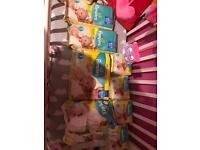Pampers nappies size micro and size 1