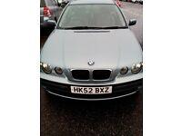 BMW 316TI SE COMPACT. 2002. MOT end of November 2017. very reliable.