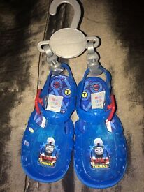 Baby/Toddler Thomas the Tank Engine Jelly Shoes Infant Size 5, brand new!