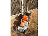 FLYMO QUICKSILVER 46SD SELF PROPELLED PETROL LAWN MOWER