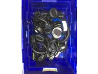Box of faulty headsets