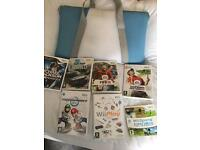 Wii Console, Wii Fit Board, Games & Accessories