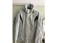 Ladies Gill Waterproof windproof and fleece lined jacket size 10