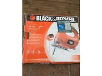 Black & Decker Variable Speed Jigsaw & free blades