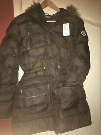 Ladies Camo Moncler Jacket