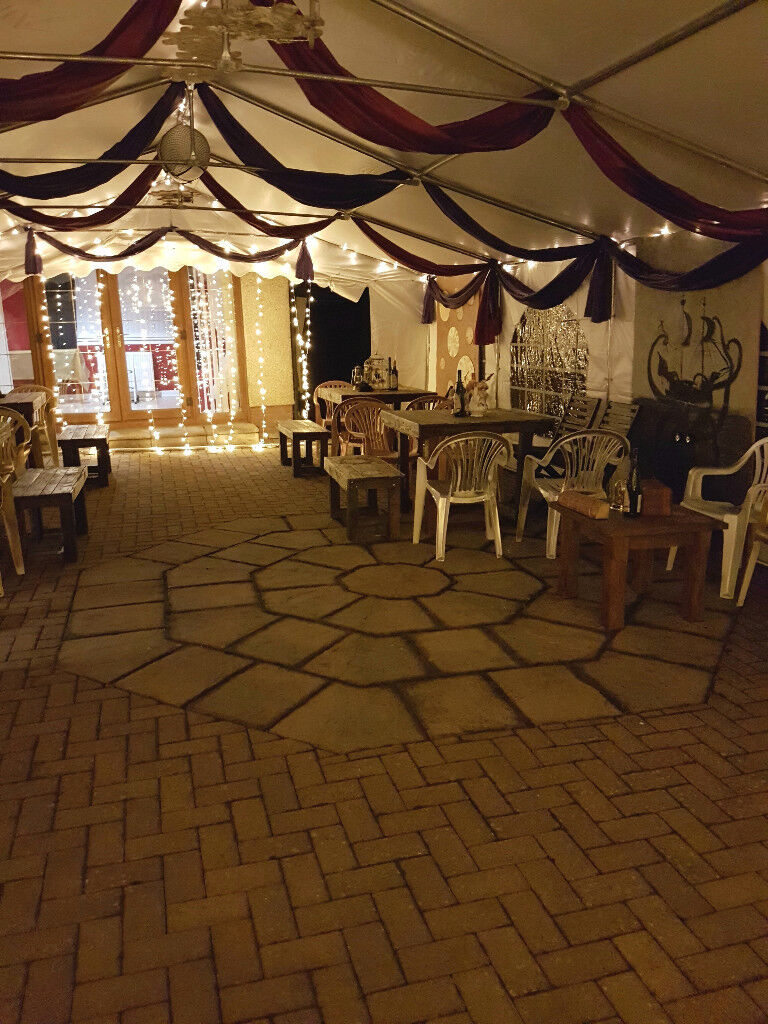 Steampunk Wedding Marquee, Decor, Props and Extras for Sale - £2,500