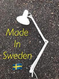 Vintage Anglepoise style Lamp Made in Sweden