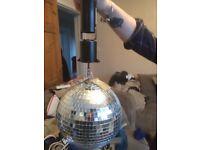 Disco Ball & Motor