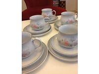 New Denby Encore 6 Pieces Tea Set
