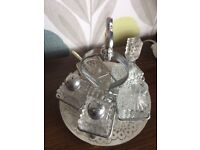 Silver plate table ware