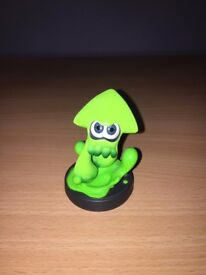 Splatoon Green Squid Amiibo