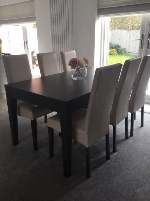 Fenwicks The Zone Dining Room Table X 6 High Back Chairatching Sideboard In Newcastle Tyne And Wear Gumtree