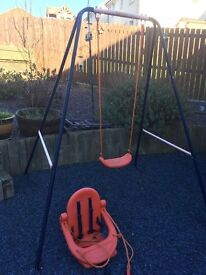 Swing converts to baby and child