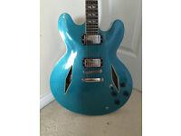 Vintage Gibson 335 Dave Grohl Style 'Pretender' Guitar & Gig Bag