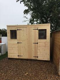 brand new woodentimber garden sheds 6x4 32000 made to measure sheds available - Garden Sheds Nottingham