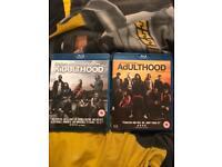 Kidulthood & adulthood blu rays