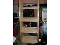 wood foldable ladder for sale
