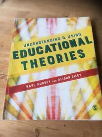 Educational theories by Karl Aubrey & Alison Riley